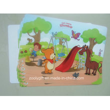 Colorful Cartoon PP Placemat PVC Table Mat