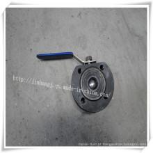 Válvulas de esfera flangeadas de aço inoxidável