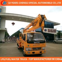 Camion de fonctionnement de plate-forme élevée de camion de seau 12-16m