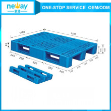 Plastic Material Single Faced Style Heavy Duty Plastic Pallet