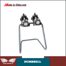 Dumbbell-15kg Silicon Cover Dumbbell Cast Iron Dumbbell