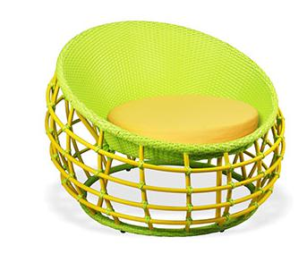 outdoor furniture round bed