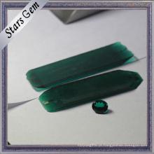 Matéria prima esmeralda sintética da origem de Rússia para Gemstone