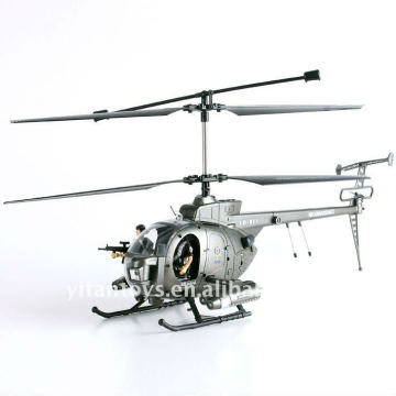 3 CH Hughes Defender Radio Remote Control rc helicopter with camera