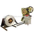 Machine de dérouleur automatique pour la coupe droite de bobine