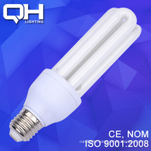 3U 18W 12mm Energy Saving Light Bulb 6500K E27