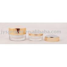 Frasco de creme cosmético acrílico de 50ml