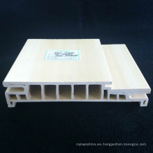 Fácilmente instalado WPC marco de la puerta WPC puerta Jamb PVC puerta de bolsillo DF-160h36