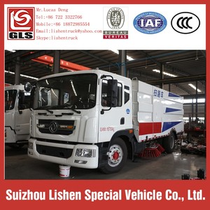 DFAC Diesel Engine Euro 3 Road Sweeper Truck