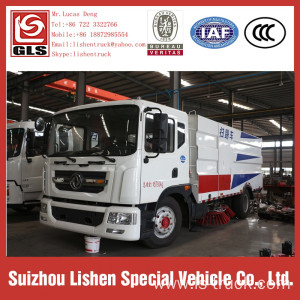4x2 Road Washer Sweeper Truck Low Price