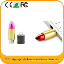 Logotipo feito sob encomenda livre diferente da pena de USB do presente do batom da cor (ET608)