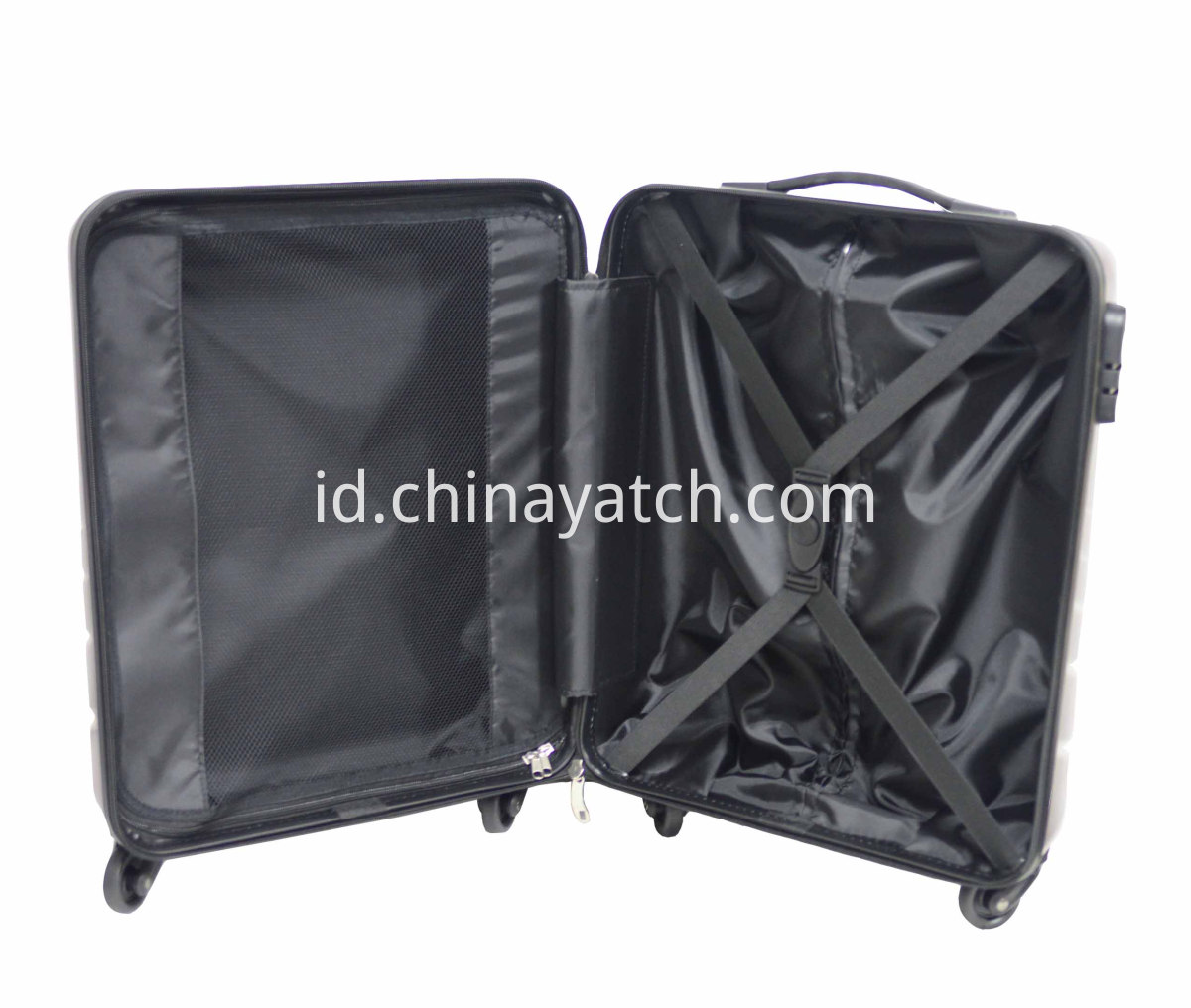 Durable alloy luggage