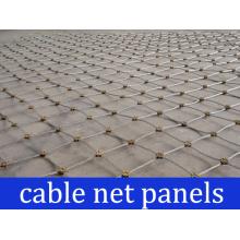 Paneles de red de cable de estabilización de roca