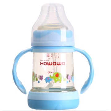 Anti-Colic Baby PPSU Milk Feeding Bottle Dengan Handle