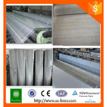 Malla de alambre de acero inoxidable / malla de filtro / tela de malla tejida