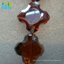 porte décoration suspendus rideaux de perles de verre