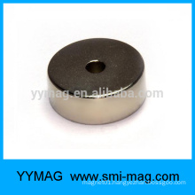 Super quality round magnets with holes
