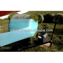 filme de envoltório de bala de silagem de plástico verde de embalagem