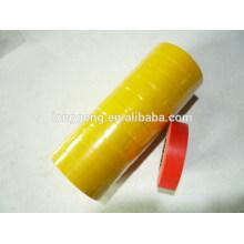Ruban d'isolation électrique en PVC jaune