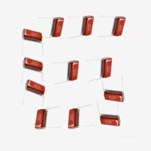 Topmay 2016 condensador de película de poliéster metalizado eléctrico popular Mkt-Cl21 6.8UF 5% 100V