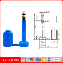 Jc-BS105 Laser gedruckte Seriennummer Container Lock Bolt Seal