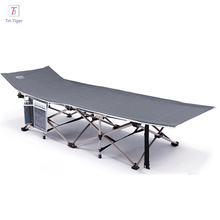 Folding military camping bed beach chair Aluminum folding camping bed