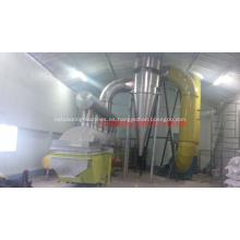 Máquina secadora de lecho fluido vibratorio