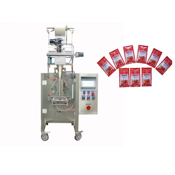 Stable Reliable Automatic 5-100ml Fruit tomato sauce liquid packing machine
