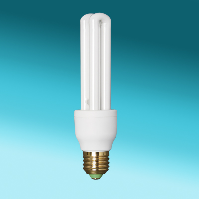 2U CFL tube lighting energy saving bulb 15w cfl
