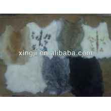 vrai lapin doux pour vêtement peau de lapin chinois