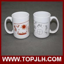 Porcelain Sublimation 15 Oz White Mugs