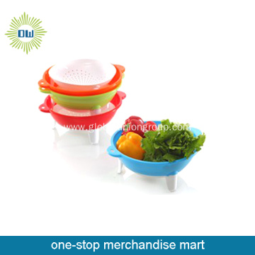 Disposable Plastic Salad Bowl Set