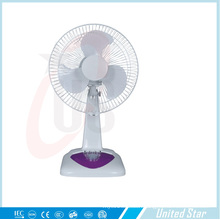Solar AC DC Rechargeable Fan Standing Fan Battery Charger Table Fan (QM850)