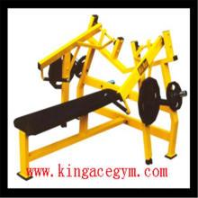 Тренажерный зал фитнес-оборудования для коммерческого ISO-Боковая горизонтальная скамья для пресса