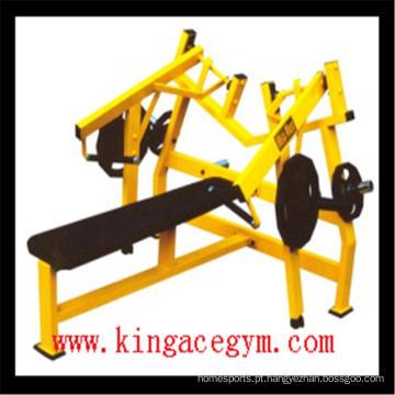 Imprensa de banco horizontal ISO-Lateral comercial do equipamento da aptidão do Gym