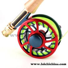Venda por atacado CNC Colorful Fly Fsihing Reel