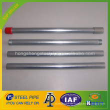 BS1387 / ASTM A53 verzinktes Rohr / GI Rohr