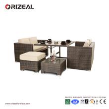 Outdoor Cube Rattan 4-Seater Sofa Set OZ-OR062