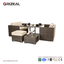 Outdoor Cube Rattan 4-Seater Sofa Set OZ-OR062