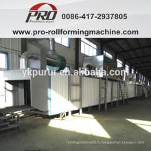 Salle de lavage et de séchage pour la production de barils d'acier 216.5L