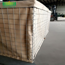 Safety sand filled gabion hesco barriers blast wall