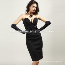 Высокий конец пользовательских полная длина сексуальная милая вечернее платье