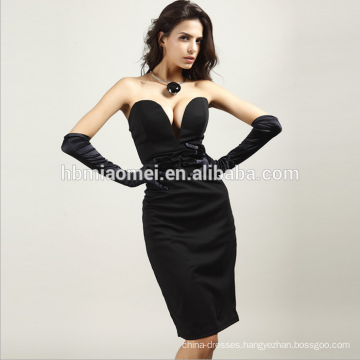 High end custom full length sexy sweetheart evening dress