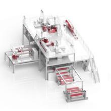 Máquina de producción de tela no tejida de 1600 mm