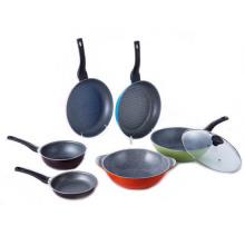 Korea Aluminum die cast stone cookware