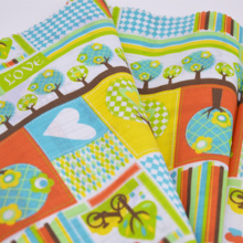 100% Cotton Fabric For Baby Cotton Tissue