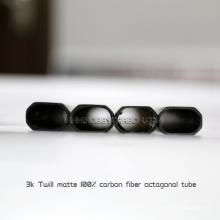 600mm Länge 3k Vollcarbon-Rechteckarm flaches Rohr