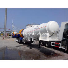 3 axle 20CBM sulfuric acid tank semi-trailer