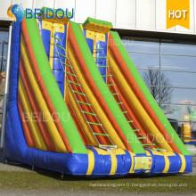 Nouveaux jouets géants Jeux gonflables de sport Échelle d'escalade gonflable