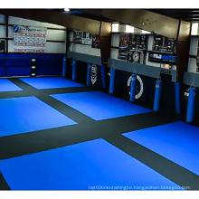 LinyiQueen judo mat polyethylene foam trein  crash pad rollout aikido martial art style tatami judo mat